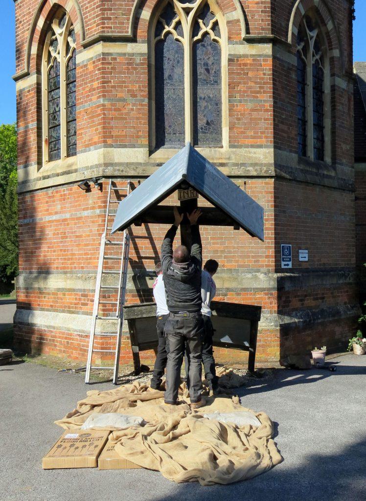 Cold Ash War Memorial Restoration