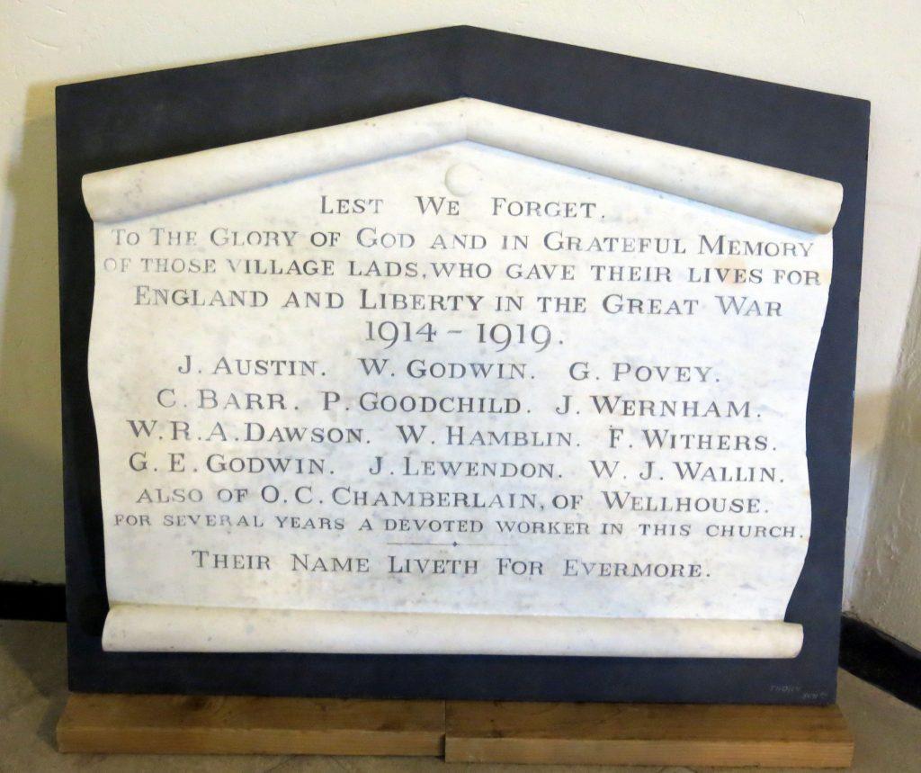 Primitive Methodist Memorial Restoration